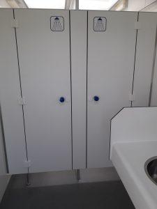 Sanitair gebouw